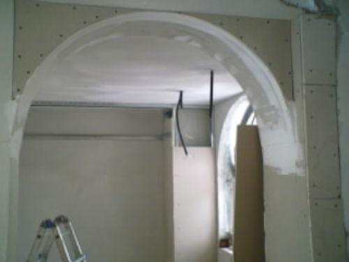 Arco In Gesso Per Interni Arco Rivestito In Pietra Ricostruita