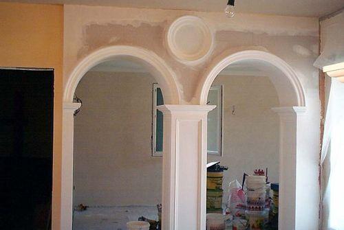 Archi da interno e da esterno tutto il mondo del cartongesso - Rivestimento archi da interno ...